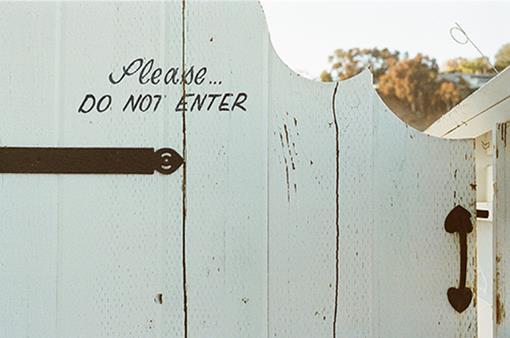 Geen toegang